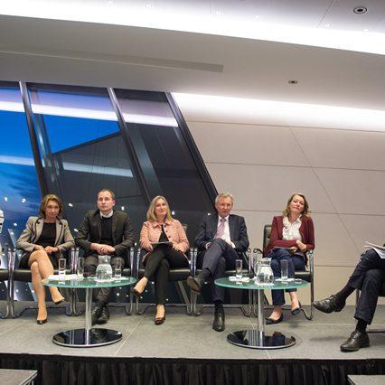 Podium, Wohnbaufinanzierung in Österreich, Fotocredit: Luiza Puiu