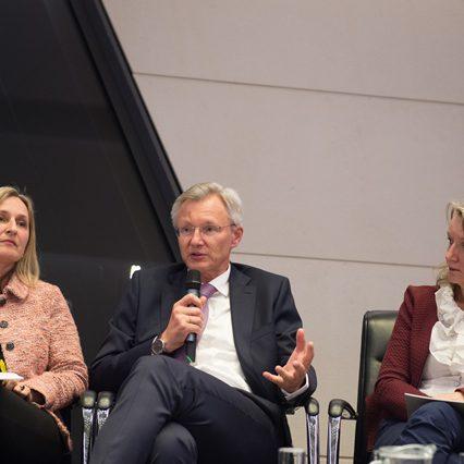 Gertrude Schwebisch, Manfred Url, Eveline Hendekli, Fotocredit: Luiza Puiu